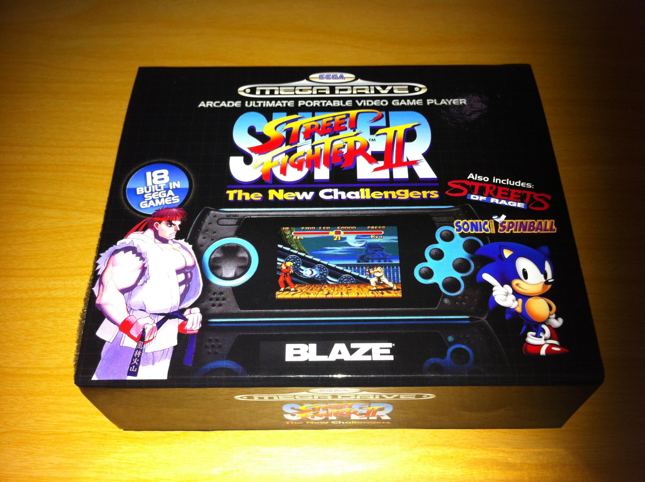 Consola Sega Megadrive Portatil De Blaze La Manzana De 8 Bits