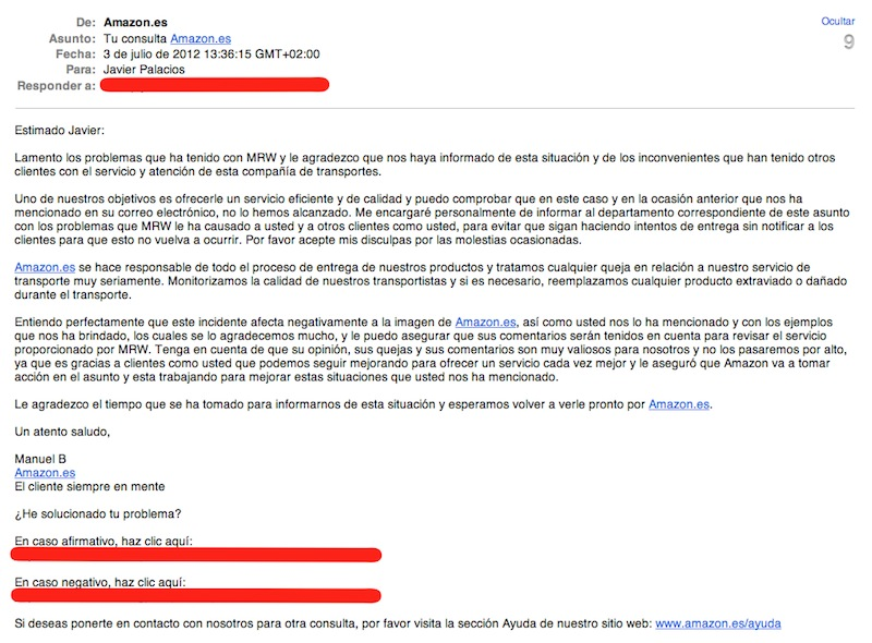 solicitar factura en amazon españa
