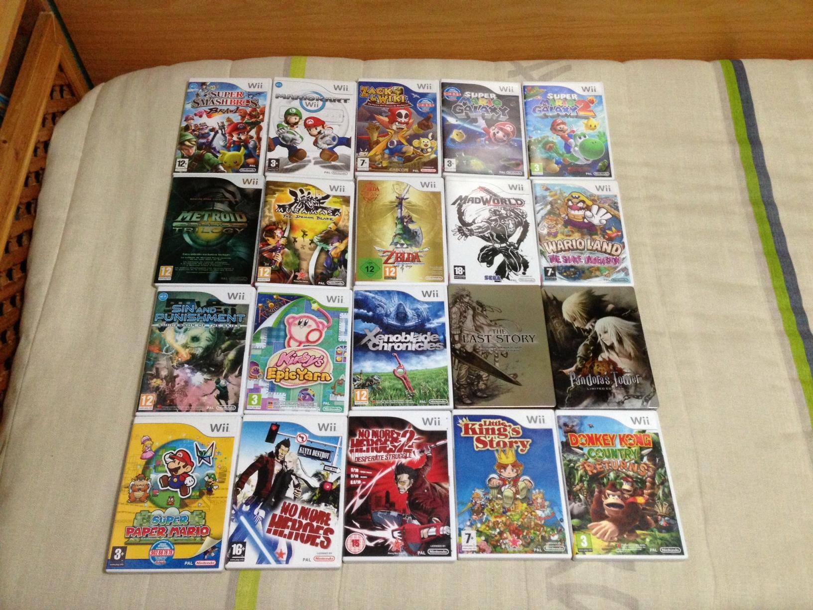 Mis preferidos de Wii