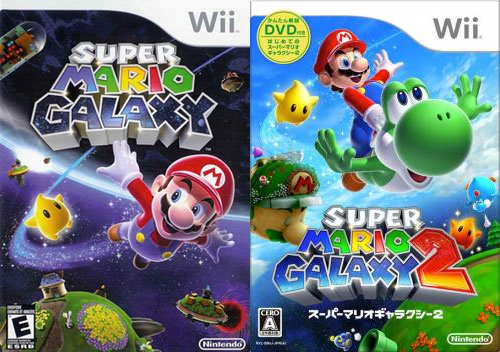 Super Mario Galaxy 1 & 2
